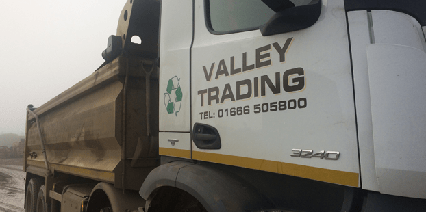 Valley Trading lorry